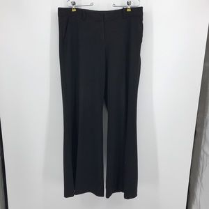 Women's The Limited Very Wide Leg Black Pants. 12